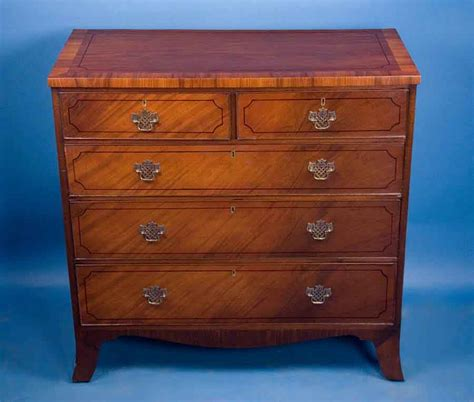 Mahogany Chest Of Drawers For Sale by Georgian Mahogany Front Chest Of Drawers For Sale