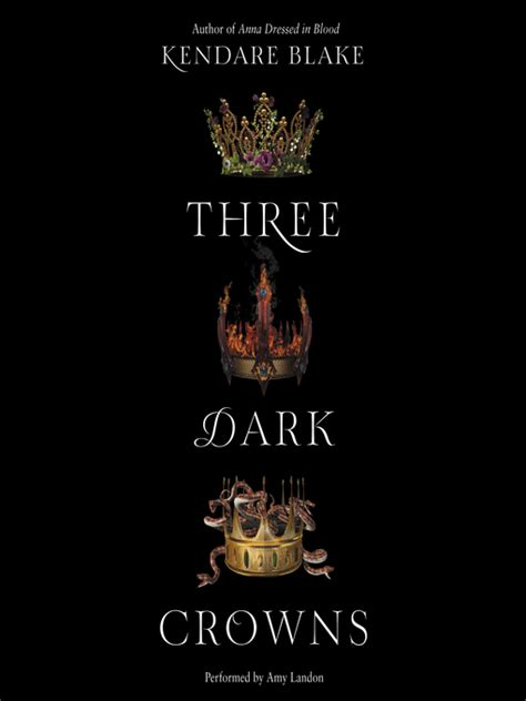 Three Crowns By Kendare three crowns southeastern libraries cooperating