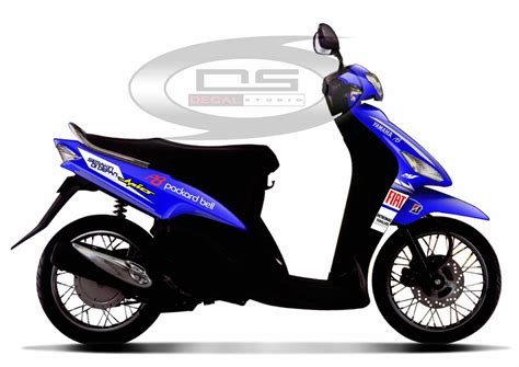 Striping Mio Sporty 2009 Biru 301 moved permanently