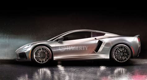 Mid Motor Corvette by Here S What The Mid Engine Corvette C8 Will Look Like