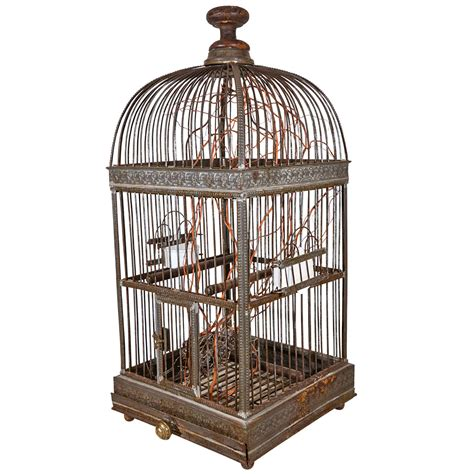 19th century french and enamel bird cage at 1stdibs