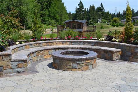 half circle pit 23 backyard pit designs