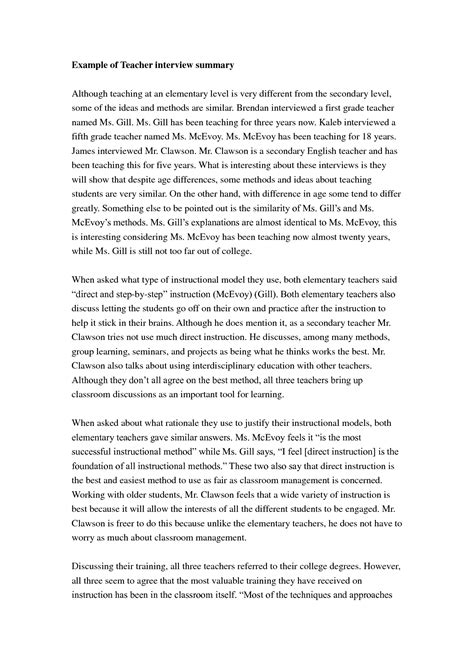 Exle Of Summary Essay by Best Photos Of Exles Of A Written Exle Summary Essay