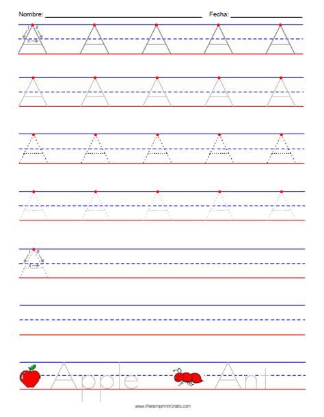 actividades lectoescritura para imprimir hojas de caligrafia para imprimir en blanco mejor