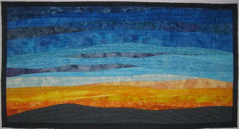 landscapes quilts gallery art quilts  sharon