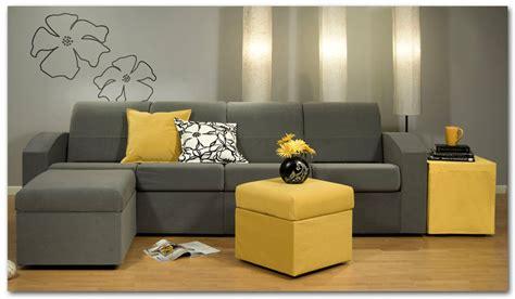 gray and yellow sofa small sectional sofa for idly modern living room kvriver com