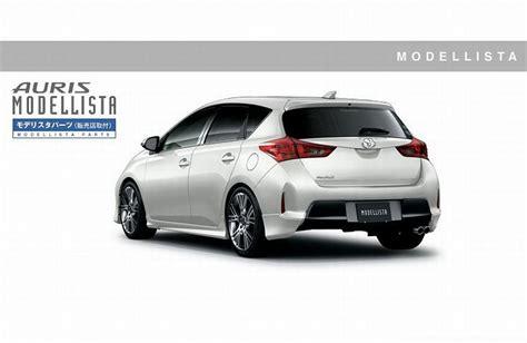 Toyota Auris Corolla 2013 Toyota Corolla Auris Gets Trd Modellista Upgrade