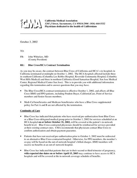 service contract termination letter template the best resume