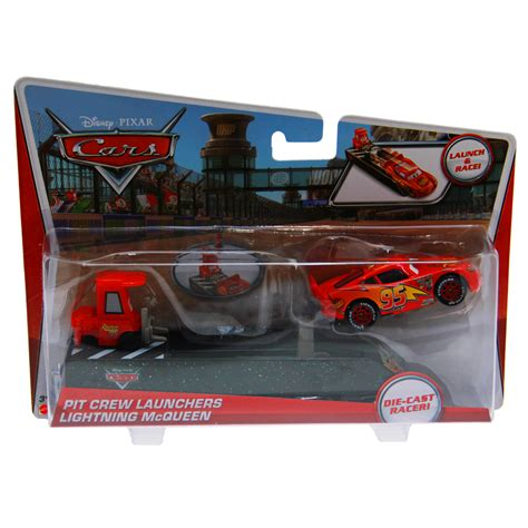 Lighting Mcqueen Toys by Disney Cars Toys Pit Crew Launcher Lightning Mcqueen At