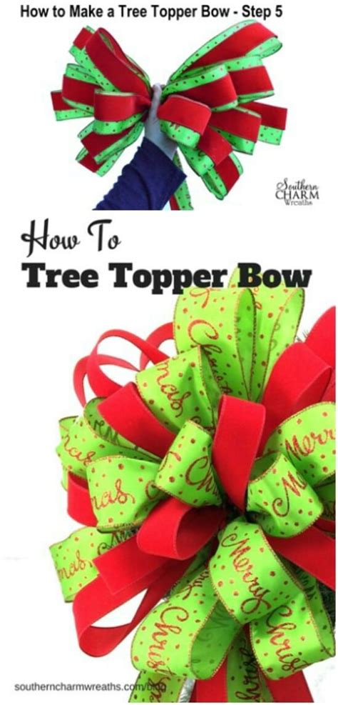 how to make an easy tree topper 15 festive diy tree toppers to dress your tree with cheer diy crafts