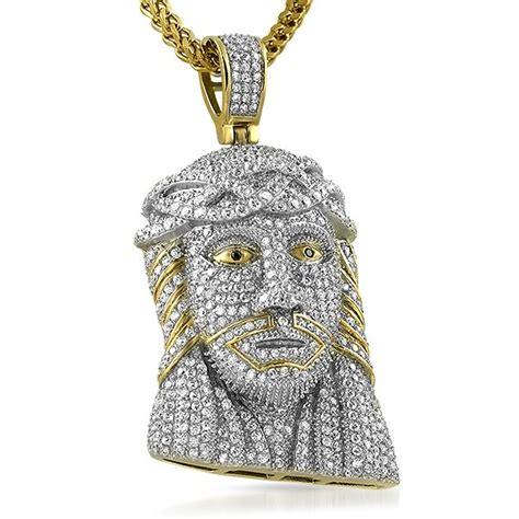 Bling Bling Jesus Pendant by 3d Gold Stainless Steel Bling Jesus Pendant