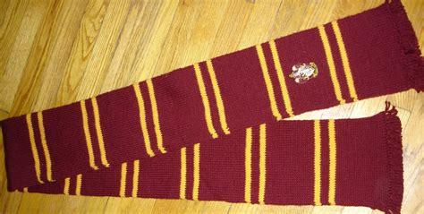 knitting pattern gryffindor scarf knit whimsies gryffindor scarf