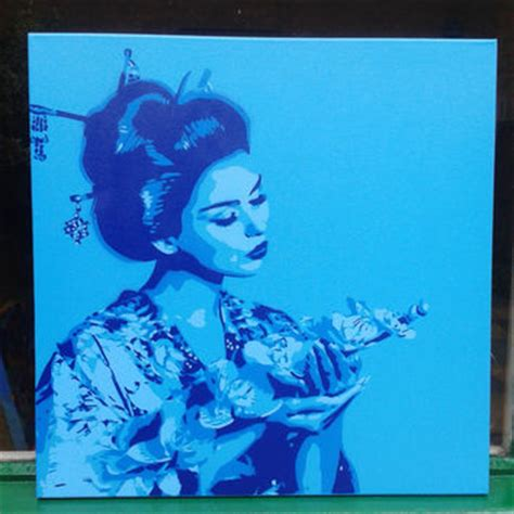 japanese spray paint shop japanese geisha kimonos on wanelo