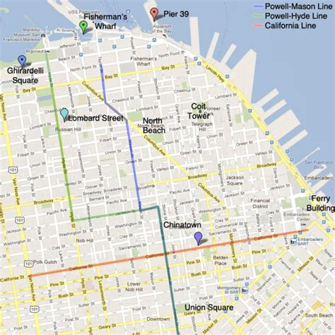 san francisco trolley map pdf cable car stops san francisco map