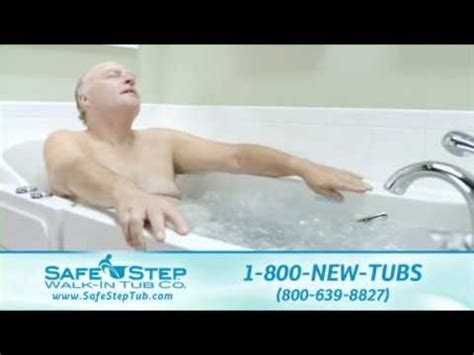 old person bathtub pat boone full commercial safe step youtube