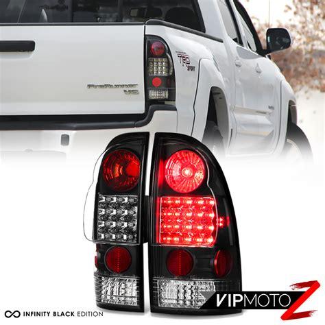 2005 2015 Toyota Tacoma Trd Style Led Black Tail Lights
