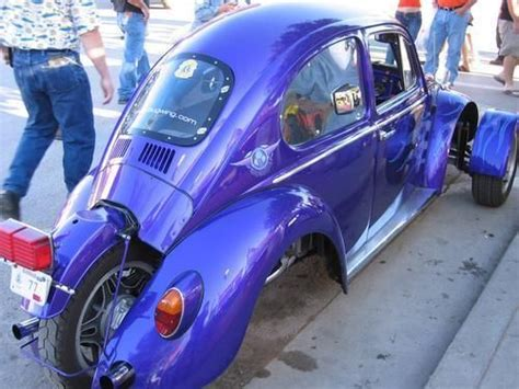Wheels Blue Truck With Motorcycles Moto Beetle Vw Bug Converted Into A 3 Wheeler Strange