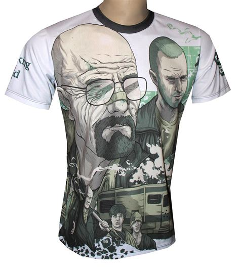 Tees Breaking Bad breaking bad t shirt with logo and all printed