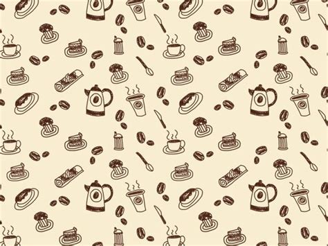 pattern coffee house paper wallpaper patterns and google on pinterest
