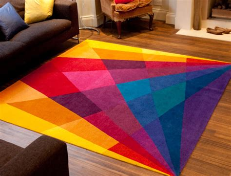 Rainbow Contemporary Modern Area Rugs By Sonya Winner Rainbow Rug