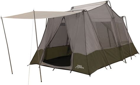 2 Room Cabin Tent by New Trek Tents 237 Nylontaffeta Cabin 8 X 13 Two Room 7