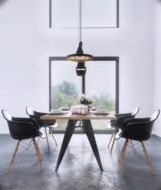 Wood Dining Table And Black Chairs Solid Wooden Dining Table With Black Chairs For Modern