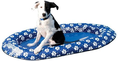 inflatable dog bed inflatable flocking pool floating bed for pet dog buy