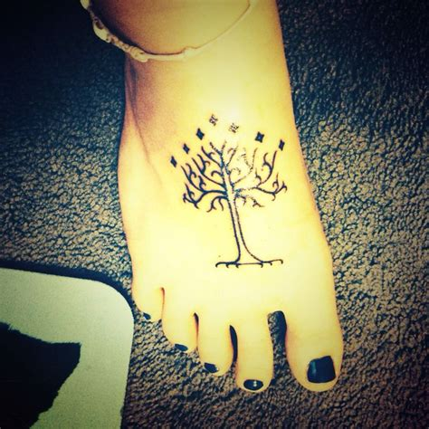 tattoo new minas minas tirith tree tattoo www pixshark com images