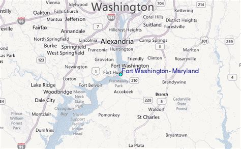 Md Wash fort washington maryland tide station location guide
