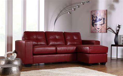 cheap red leather sofa rio red leather corner sofa only 163 499 99 furniture choice