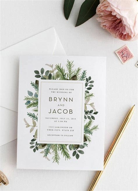 top etsy wedding invitations top 10 wedding invitations we from etsy for 2018