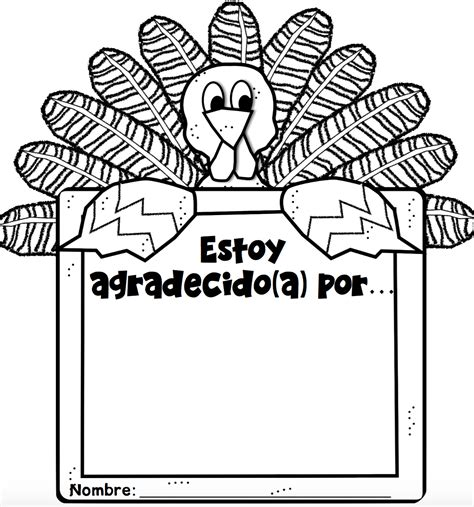 thanksgiving coloring page in spanish thanksgiving freebies in spanish mommymaleta
