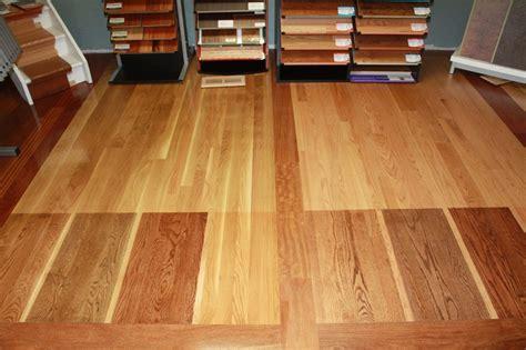 honey oak cabinets what color floor what oak hardwood floor stain looks best with honey oak