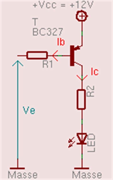 transistor pnp montage elec quelques rappels theoriques maison du libre brest
