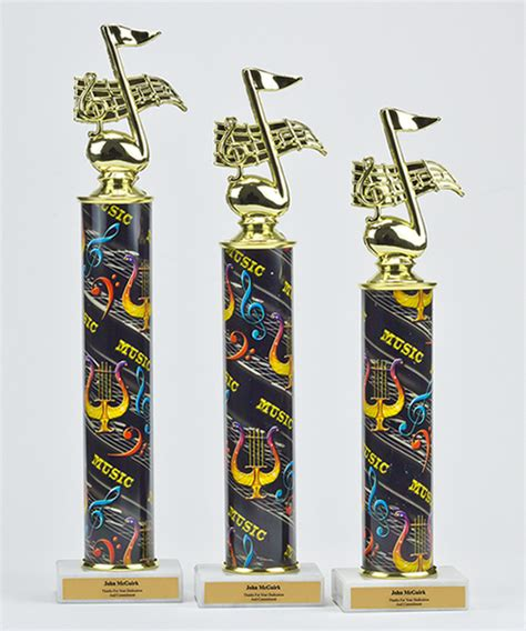theme music action music note photo action trophy trophies corporate