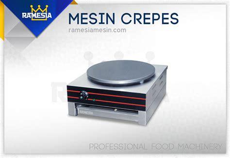 Mesin Banner mesin crepes crepes maker ramesia mesin
