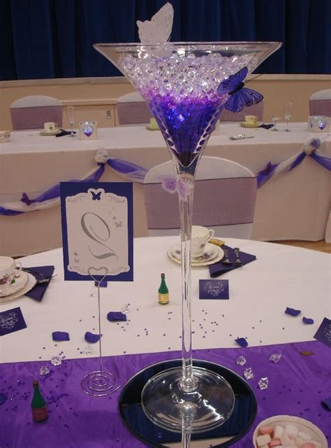 martini glass decorations for wedding martini glass