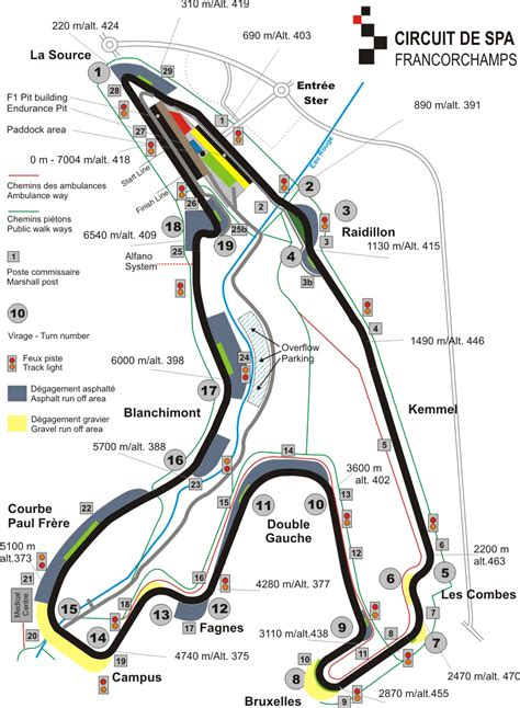 spa belgium map image gallery spa francorchs map