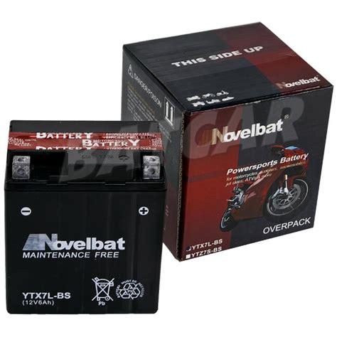 Motorradbatterie Gebraucht by Agm Motorradbatterie Ytx7l Bs Novelbat 50614lf Ctx7l Bs