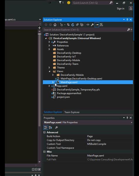 xaml adaptive layout tips and tricks devicefamily adaptive xaml tool javier