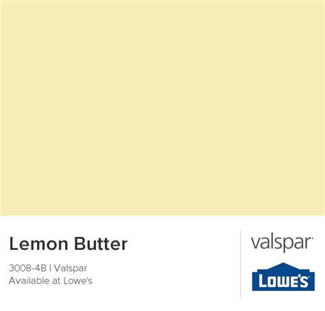 lemon butter from valspar paint color butter valspar and lemon butter