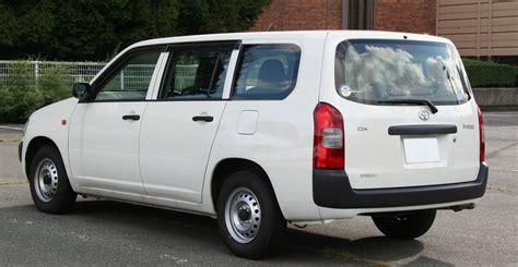What Is Toyota File Toyota Probox Dx Rear Jpg Wikimedia Commons