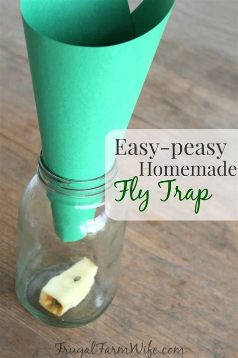 Make Your Own Fly Paper - fly trap totally works the frugal farm
