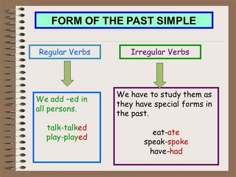 pattern simple past tense webquest creator 2
