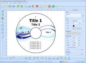 Label Template Maker by Ronyasoft Cd Dvd Label Maker V3 01 21 Shareware