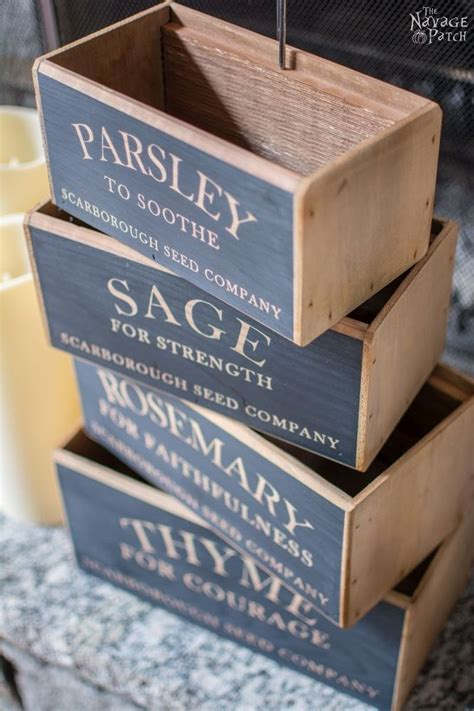 herb boxes 17 best ideas about herb box on pinterest pallet planter