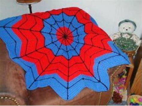 pattern for spiderman afghan spiderman round ripple afghan