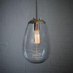 Bathroom Light Fixtures West Elm Globe Pendant Clear Globes Pendants And West Elm