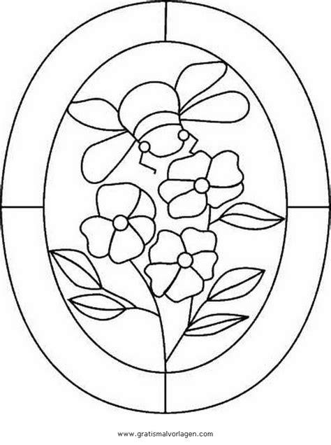 fensterbilder 4 gratis Malvorlage in Geometrische Formen