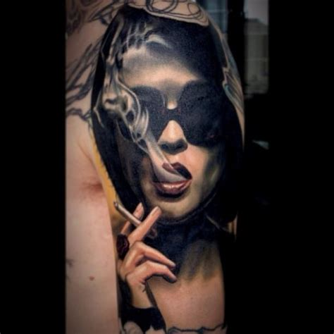 worldwide tattoo conference tattoos portrait smoking